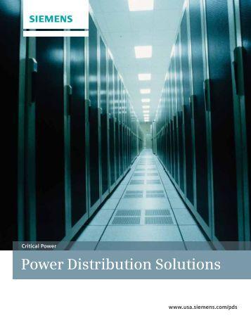 Power Distribution Solutions - Siemens