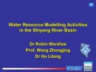 Water Resource System - FutureWater