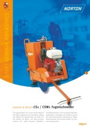 Asphalt & Beton CS1 / CSW1 Fugenschneider - Norton Construction ...