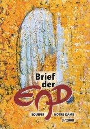 Brief der - Equipes Notre Dame