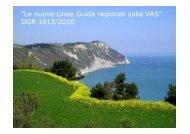 Le nuove linee guida regionali sulla VAS - Il Parco del Conero
