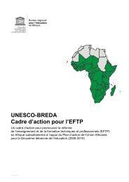UNESCO-BREDA Cadre d'action pour l'EFTP - Intervoc