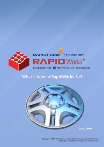 What's New in RapidWorks 3.0 - NextEngine