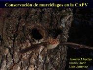Quirópteros amenazados - Gbif.es