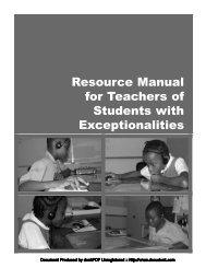 Special Ed Manual.pdf - Uwi.edu