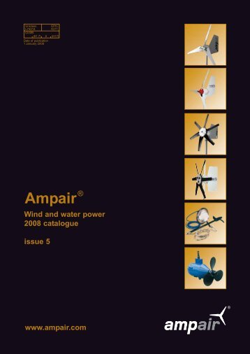 Ampair Catalogue link here - JG Technologies