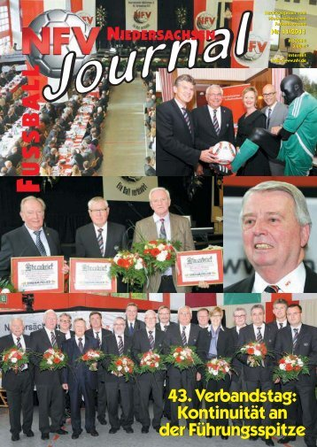 43. Verbandstag - Niedersächsischer Fußballverband