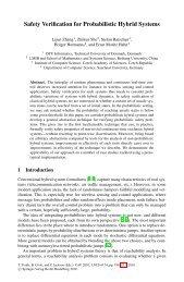 Safety Verification for Probabilistic Hybrid Systems