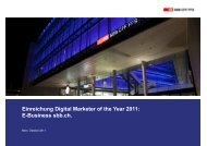E-Business sbb.ch. - Digital Marketing Day