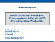 Multimedia Campus Kiel - digicult-sh.de