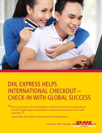 International Checkout Case Study - DHL