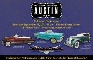 Collector Car Auction - Dan Kruse Classics