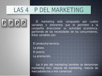 Las 4 Pes del Marketing