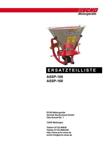 ERSATZTEILLISTE - Gartentechnik-Bremen