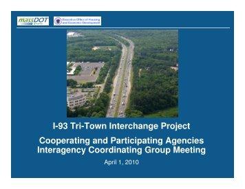 April 1, 2010, Cooperating and Participating Agencies Interagency ...