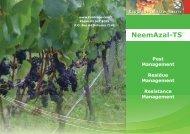 Neemazal-T/S Brochure