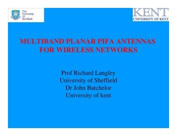 multiband planar pifa antennas for wireless networks