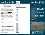 Law Day 2012 - New Hampshire Bar Association