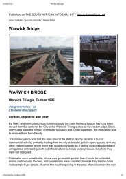 Warwick Bridge | File 1/3 | A4 | 3 pages - THE SOUTH AFRICAN ...