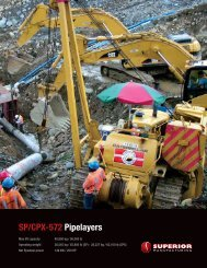 SP/CPX-572 Pipelayers - Worldwide Machinery