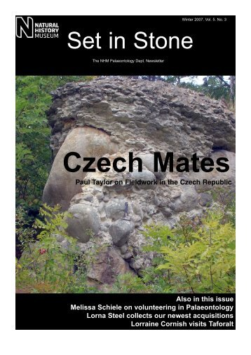 Czech Mates - Natural History Museum