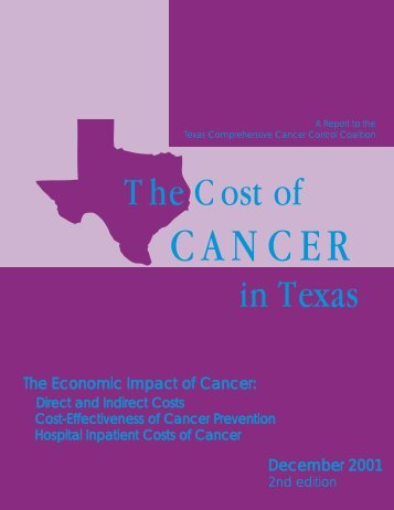 The Cost of Cancer in Texas