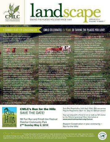 2010 Spring Newsletter & Annual Report for 2009 - Carolina ...