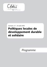 bulletin d'inscription - Cédis Formation