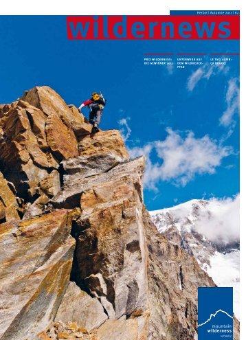wildernews 62 - Mountain Wilderness