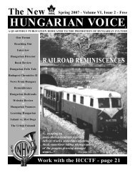 THE NEW HUNGARIAN VOICE SPRING 2007 (Read-Only)