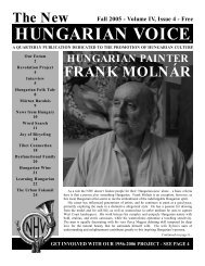 THE NEW HUNGARIAN VOICE FALL 2005 (Read-Only)