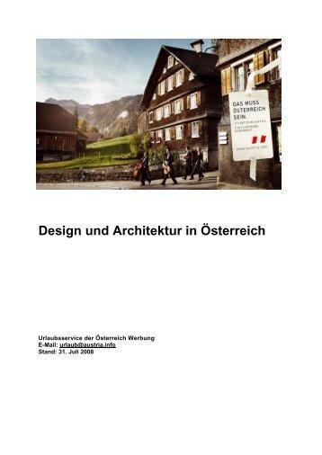 Design und Architektur