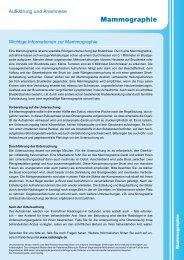 Mammographie - Radiologie.de