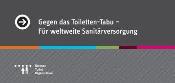 Unser Flyer - German Toilet Organization eV