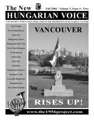 THE NEW HUNGARIAN VOICE FALL 2006 (Read-Only)