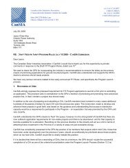 draft feed-in tariff program rules july 10 2009 - cansia submission