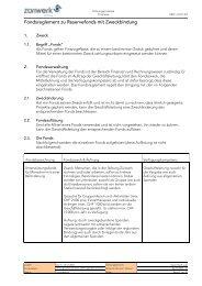 Vorlage für Formular - Züriwerk