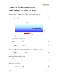 Exact Solutions to the Navier-Stokes Equation