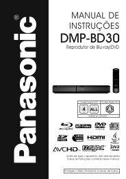 DMP-BD30PU.pdf - Panasonic