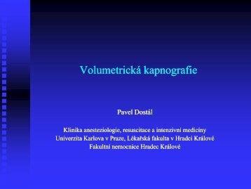 Volumetrická kapnografie - Česká společnost anesteziologie ...