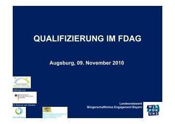 Vortrag - FDAG - Bayern