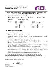 CEI Leersum (NED) 24.08.2013 - Schedule - Endurance Team Styria