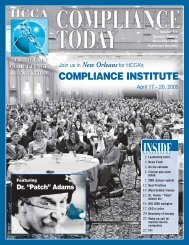 New Orleans - Health Care Compliance Association