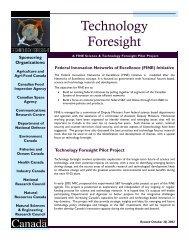 Foresight Pilot Project - Moya K. Mason