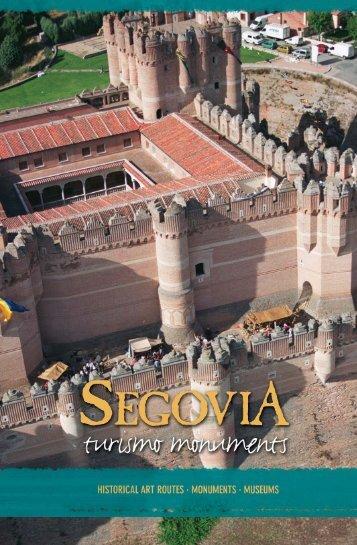 turismo momumental ingles:turismo momumental trazado - Segovia
