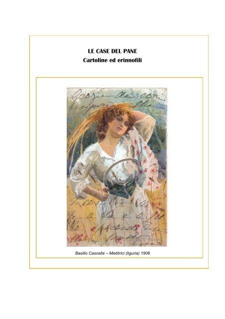 LE CASE DEL PANE Cartoline ed erinnofili
