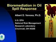 Bioremediation in Oil Spill Response