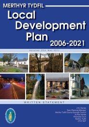 ldp adopted plan - may 2011 - Merthyr Tydfil County Borough Council
