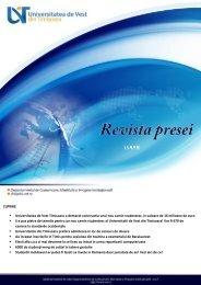 11. REVISTA PRESEI 16-iulie-2013 - dci.uvt.ro - UVT