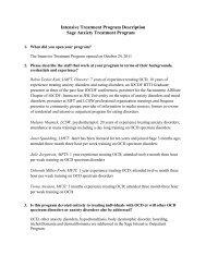 Sage Anxiety Treatment Program